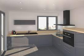 finition de cuisine cuisine bois et gris fresh petit coin meubles couleur bleu finition