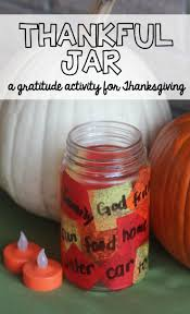 Jar Thanksgiving Thankful Jar Activity