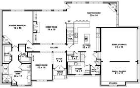 4 bedroom home plans fascinating 4 bedroom 2 5 bath house plans ideas best