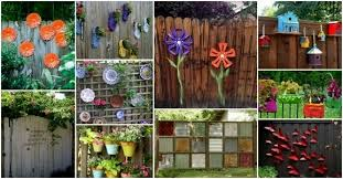 Backyard Fence Decorating Ideas The Key To Successful Backyard Fence Decorating Ideas Olpctalks