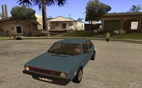 volkswagen golf mk1 modified volkswagen golf mk1 stock for gta san andreas