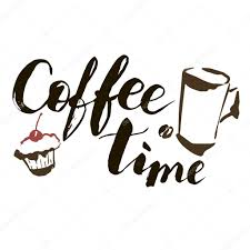 artistic coffee coffee time hand drawn vector artistic illustration for design