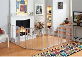 Fireplace Child Safety Gate by Amazon Com North States Superyard 3 In 1 Metal Curve Gate