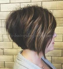 stacked shortbhair for over 50 short hairstyles over 50 stacked bob haircut hair pinterest
