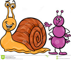 thanksgiving riddles and jokes ant and snail cartoon illustration stock vector image 39459701