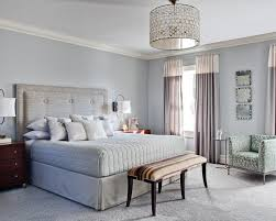 Two Tone Blue Bedroom Two Tone Drapes With Curtains Bedroom Contemporary And