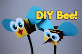 how to make bee easy kids craft diy papercraft my paper