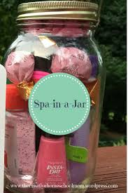 spa in a jar easy fun teen gift homeschool spa and teen