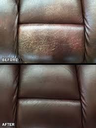 Leather Sofa Dye Repair amazon com leathernu complete leather color restoration u0026 repair