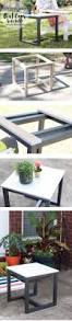 diy outdoor side table outdoor side table pottery and barn