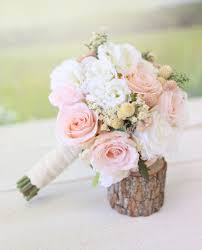 silk bridal bouquet silk bridal bouquet wildflowers pink roses baby s breath