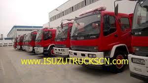 semi truck manufacturers offical isuzu ftr fire fighting truck brand new fire truck