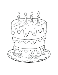 free printable birthday cake banner birthday cake colouring page and happy birthday cake topper banner