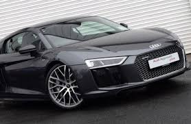 audi r8 blacked out this audi r8 v10 plus looks like a supercar and drives like one too