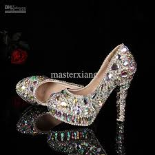 wedding shoes jeweled heels s formal shoes jeweled beaded women s 14cm high