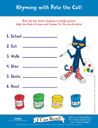 pete the cat activities petethecatbooks