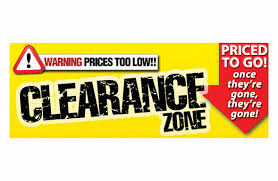 clearance items from swps