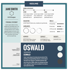 Best Resume Gallery by The Best Font For A Resume Resume For Your Job Application