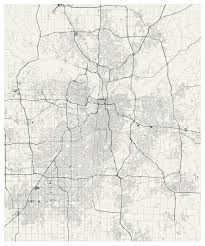 Map Of The State Of Kansas by Kansas City Streets Visualized Jim Vallandingham