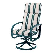 High Back Swivel Rocker Patio Chairs Deals Throughout High Back Outdoor Chair Cushions Sale
