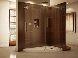 clear glass door shower clear glass shower doors self esteem cost of a frameless