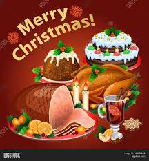 christmas traditional christmas dinner vector photo bigstock