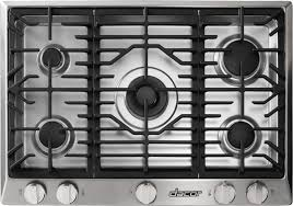 Kitchen Aid Cooktops Kitchen Dacor Gas Cooktop Range Reliability Prices On Glass