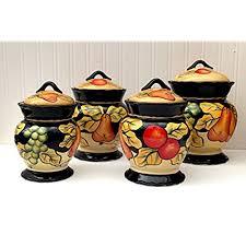 orange kitchen canisters orange kitchen canisters