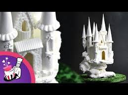 castle cake topper sugar fairytale castle cake topper tutorial by yeners way