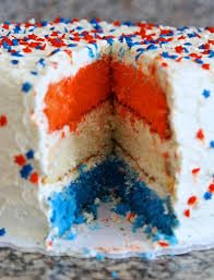 a patriotic red white and blue cake castironandwine com from