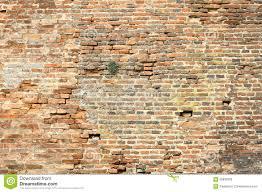 old damaged exterior brick wall stock photo image 65932009