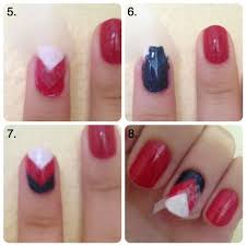 nail art tutorial patriotic fourth of july polish
