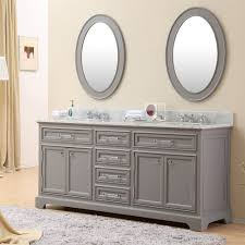 Oval Bathroom Mirror by Bathroom Oval Bathroom Mirror And Double Bath Vanity With Top