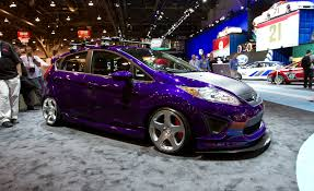 subaru hatchback custom sema 2011 ford announces a trio of custom fiesta hatchbacks car