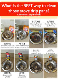 everything you wanted to about how to clean stove drip pans