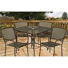 Hton Bay Patio Umbrella South Bay 5 Pc Dining Collection Includes 4