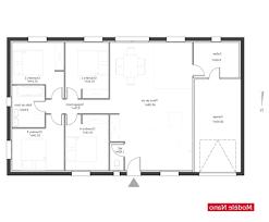 plan villa plain pied 4 chambres plan maison plain pied 4 chambres gratuit con plan de maison 120m2