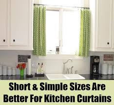 Material For Kitchen Curtains by 8 Ways To Improve Your Kitchen Curtains Diy Home Life Creative