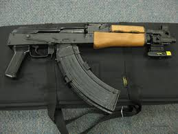 ak 47 laser light combo draco ak 47 pistol w laser sight case for sale