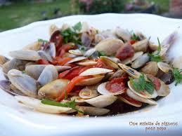 cuisiner des tellines pignons au poivron et au chorizo une cuillerée pour papa