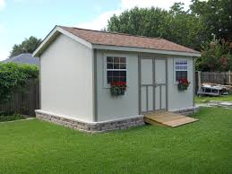 backyard gym shed home outdoor decoration
