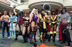 Halloween Costumes Mortal Kombat Sonya Blade Mortal Kombat Cosplays Mortal Kombat