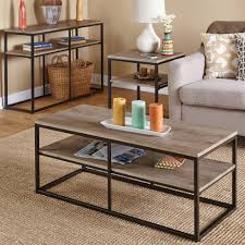 coffee table marvelous clear coffee table wood and iron coffee