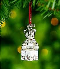 silver ornaments tree accessories dillards