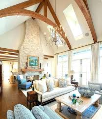 Cathedral Ceilings In Living Room Decorating Vaulted Ceiling Living Room Best Vaulted Ceiling Decor