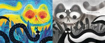 halloween cat cover photos amazon com they all saw a cat 9781452150130 brendan wenzel books