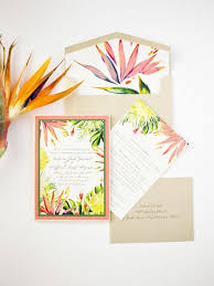 tropical themed wedding invitations the most tropical wedding theme you ve seen weddingsonline