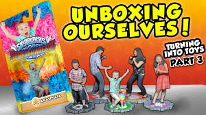 unboxing ourselves our toys are here turning into skylanders