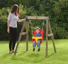 baby swing swing set plum wooden baby swing set wooden swing set for tiny tots