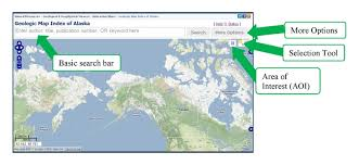 Alaska Records Search Alaska Division Of Geological Geophysical Surveys Map Index Help